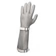 Перчатка кольчужная пятипалая с манжетой, 22 см  (Китай)