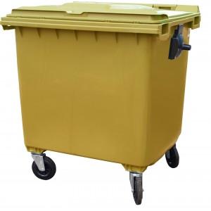 Мусорный контейнер на колесах, 1100 л