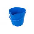 Ведро FBK 15 л. пластик противоударный, 1,09 кг.