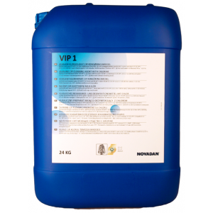 VIP 1 Щелочное беспенное моющее средство с хлором, 24 кг